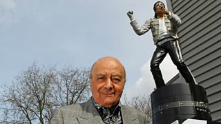 Former Fulham owner Mohamed Al-Fayed says he warned new owner over taking away statue.