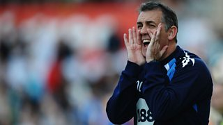 Former Wigan boss Owen Coyle reacts to being current favourite for the Celtic job.
