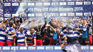 Hear Joey Barton and Nedum Onuoha give their reaction as QPR are back in the top flight