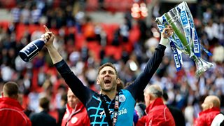 Rob Green gives his reaction to QPR's promotion to the Premier League.