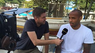 Former French international Thierry Henry shares his thoughts on on the World Cup