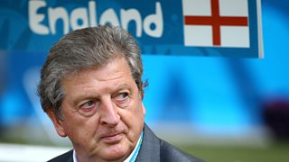 Roy Hodgson praises his inexperienced side following England's 0-0 draw with Costa Rica.