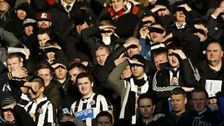 Newcastle legend Alan Shearer says he's disappointed at the club's lack of ambition.