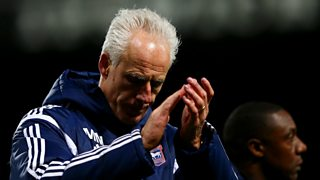 Mick McCarthy speaks live after his Ipswich side lost to Southampton in the FA Cup.