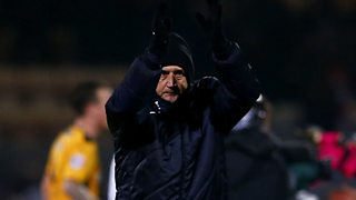 Cambridge manager Richard Money reflects on a historic night for his side in the FA Cup