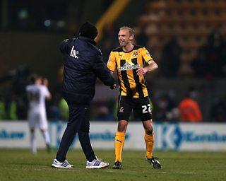 Ex-Man Utd midfielder and boyhood Cambridge fan Luke Chadwick reflects on the 0-0 draw