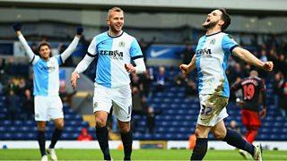 Blackburn beat Premier League side Swansea in the FA Cup