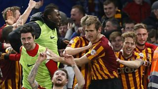 Bradford City goalkeeper Ben Williams enthuses about their shock FA Cup win over Chelsea.