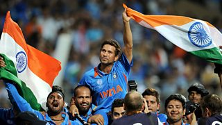 Sachin Tendulkar says winning the 2011 Cricket World Cup in India was a 'golden moment'.