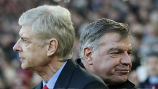 Allardyce's former assistant says Sam is just as able as Arsenal boss Arsene Wenger.