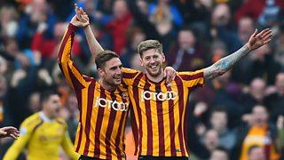Bradford City 2 - 0 Sunderland