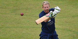 Former England captain Paul Collingwood sings Flower of Scotland