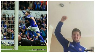 Ipswich fan says goal-scorer has gone