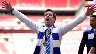 Bristol Rovers manager Darrell Clarke hails his side's 'amazing' Football League return.