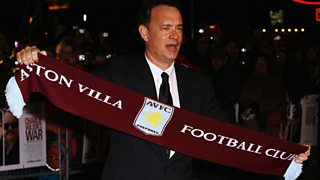 Villa fan and actor Tom Hanks sends his message of support ahead of the FA Cup final.