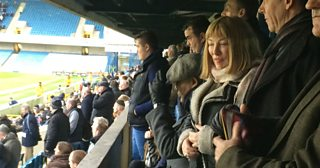 Kellie Maloney watches Millwall for the first time since her gender reassignment surgery.
