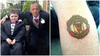 A Manchester City fan has done the unthinkable for a good cause.