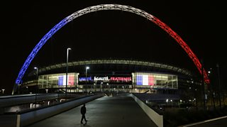 Former England striker questions whether the England v France match should take place.