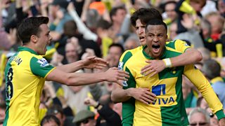 Norwich boost their Premier League survival hopes with a 3-2 win over Newcastle.