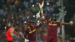 Carlos Brathwaite is the hero as West Indies stun England to win the World Twenty20.