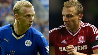 Ritchie De Laet on winning promotion with Middlesbrough and the title with Leicester.