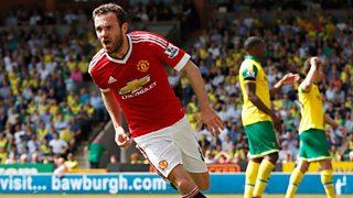 Man Utd beat Norwich City 1-0 in the Premier League.