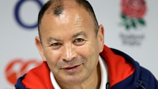 England rugby union coach Eddie Jones discusses meeting Arsene Wenger and Pep Guardiola.