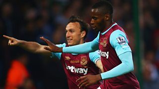 Hear all the action from a pulsating encounter at Upton Park.