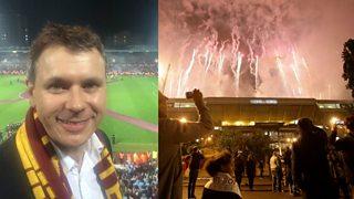 5 live's Adam Parsons bids an emotional farewell to Upton Park.