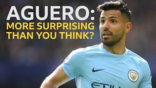 Sergio Aguero equals Manchester City goalscoring record