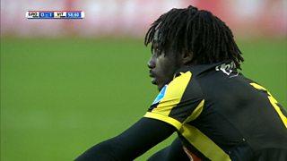 Chelsea loanee Fankaty Dabo scores 35-yard own goal for Vitesse Arnhem