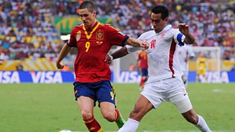 Match of the Day Live, Confederations Cup 2013 - Spain v Tahiti
