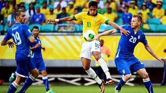 Match of the Day Live, Confederations Cup 2013 - Italy v Brazil