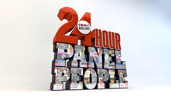 Comic Relief's 24 Hour Panel People