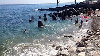 Lucy Ash meets tourists and locals in Yalta, one of Crimea's busiest resorts.