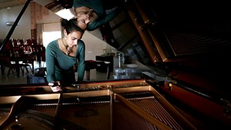 Our World was given exclusive access to film the restoration of the piano.