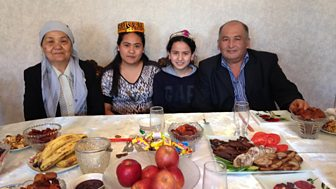Rustam Qobil meets Kazakh Uighurs concerned about China's growing influence in the region.