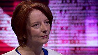 Stephen Sackur speaks to Julia Gillard, Australia's former Prime Minister.