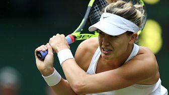 Wimbledon - 2016: Day 4, Part 3 - Bouchard V Konta