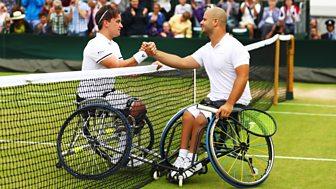 Wimbledon - 2016: Men's Wheelchair Final