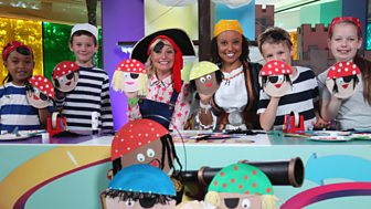 The Let's Go Club - Series 2: 10. Shiver Me Timbers, A Pirate Party!