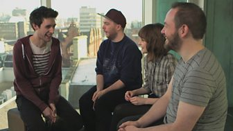 BBC Sound of 2013 - CHVRCHES interview with Ally McCrae