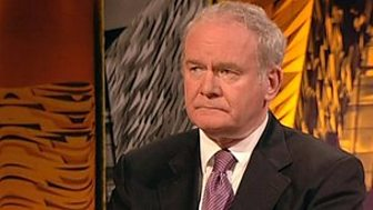 'PUP, UVF & Orange Order one & the same thing in Belfast' says Martin McGuinness - Sam McBride & Jude Collins discuss - p01q3q8x