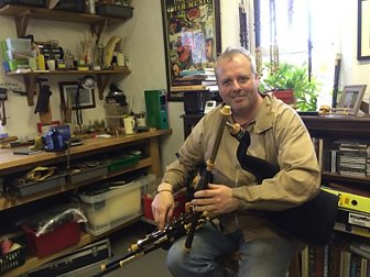 The sound of the uilleann pipes