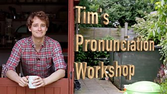 Pronunciation - the sounds of English