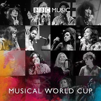 Steve Lamacq: Greatest Female Voice World Cup