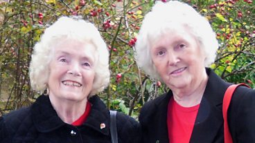 Friends for Life: Winifred and Helen (uploaded by Winifred's granddaughter Kirsty)