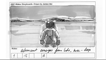 The Impossible Astronaut: Storyboard