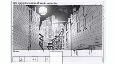 Day of the Moon: Storyboard