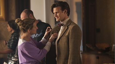 The Doctor, the Widow and the Wardrobe: Behind the Scenes
